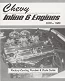 Chevy Inline 6 Engines Factory Casting Number and Code Guide 1929-89 (MSA-1)