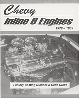 chevy engine casting numbers 6 cyl