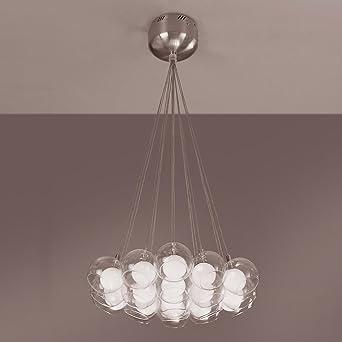 plc lighting plc 86620 hydrogen 19 light suspension chandelier