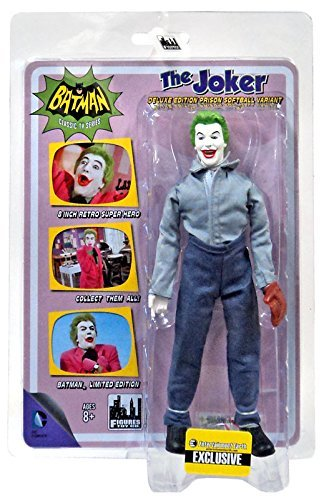 Softball Figure - Batman Classic TV Series 8 Inch Action Figure: Joker In Softball Outfit