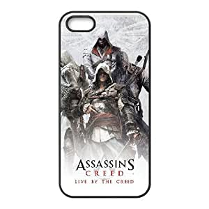 Assassin'S Creed iPhone5s Cell Phone Case Black Phone Accessories JS9KCT78K