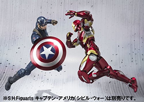 51Wl2wdvj9L - S.H. Figuarts - Civil War - Iron Man Mark 46