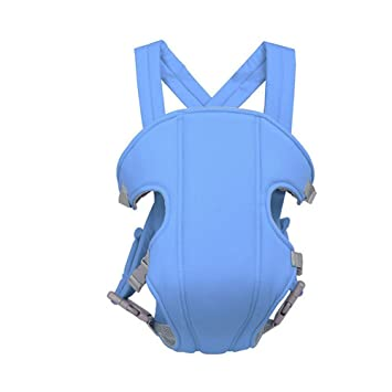 3d274bb1173 AllRight Breathable Infant Baby Carrier Backpack Ergonomic Adjustable Sling  Carrier Light Blue