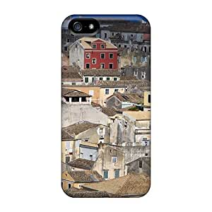 AnnetteL Snap On Hard Case Cover Corfu Centre Town Greece Protector For Iphone 5/5s by icecream design