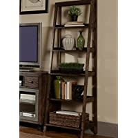 Liberty Furniture 197-BK202 Avignon Entertainment Leaning Pier, 23 x 17 x 72, Rustic Brown
