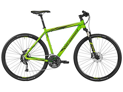 Bergamont Helix 5.0 Herren Cross Trekking Fahrrad grün/schwarz 2016: Größe: 52cm (170-178cm)