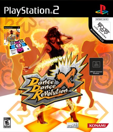 Dance Dance Revolution X with Dance Mat - PlayStation 2