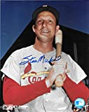 Stan Musial St Louis Cardinals Autographed Signed 8 x 10 Photo COA - (Mint Condition)