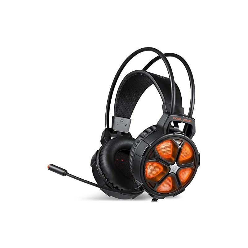Gaming Headset, EasySMX Cool 2000 Over E