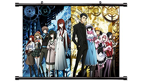 Steins Gate 0 Anime Fabric Wall Scroll Poster (32x23) Inches [A] SteinsGate0-3(L)