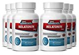Melatonin 3mg - Melatonin 3mg - Reduces stress - Clears confusion after surgery (6 Bottles - 540 Lozenges)