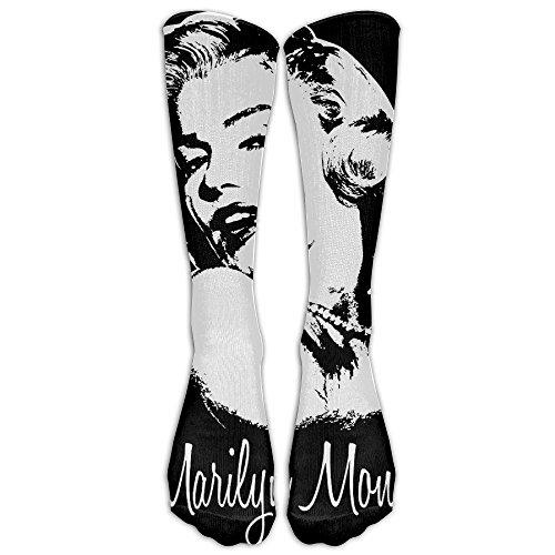 2pac Halloween Costumes (Marilyn Monroe Unisex Tube Sock Cool Crew Fashion Novelty Knee High Socks)