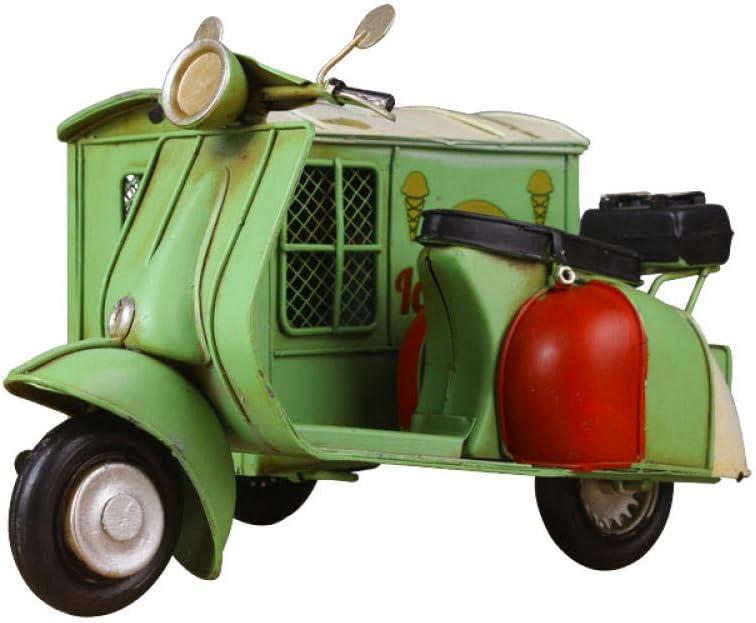 XMDYXT Triciclo Hucha Moneda Modelo Creativo Hierro Hierro Retro