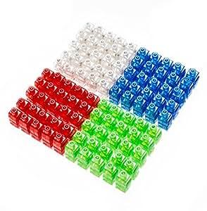 Etekcity Finger Lights Bright LED Party Favor Supplies Light up Toys Assorted Color 100 Pack