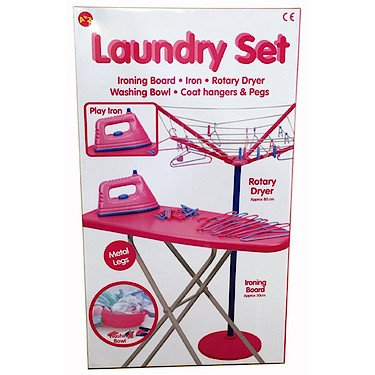 Padgett Bros Pink Laundry Role Play Set