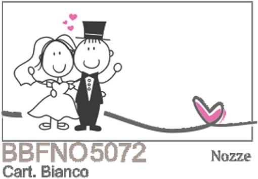 Anniversario Matrimonio Simpatico.100 Pz Bigliettini Bigliettino Bomboniera Matrimonio Nozze
