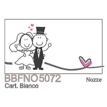 Publilancio SRL 100 PIEZAS Notas tarjeta detalle de boda BODAS DE ...