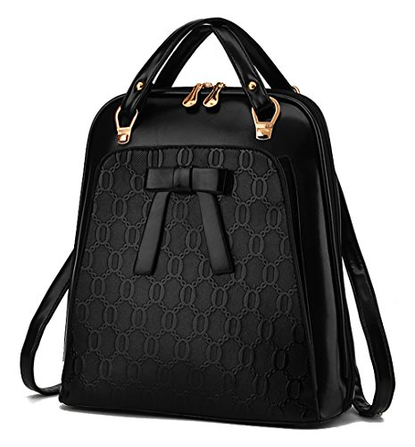 Respeedime - Bolso mochila para mujer Azul azul Medium negro