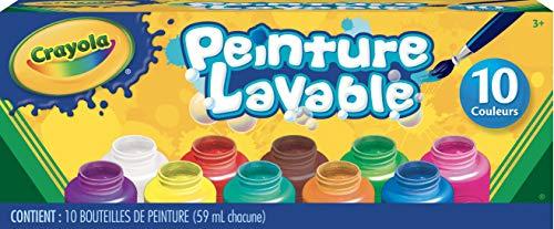 Crayola Washable Kids Paint Set, 10 Count