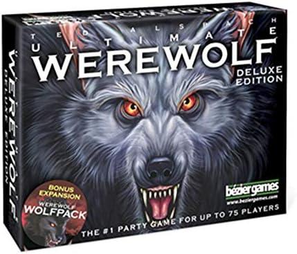 Dadahuam One Night Ultimate Werewolf Tarjetas Deck Juego de cartas Inglés Versión Juego de mesa para principiantes niños adultos valor c: Amazon.es: Bebé