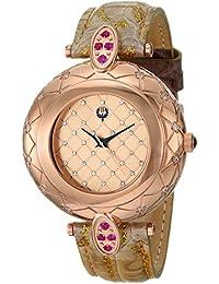 Women's 30-03 Analog Display Swiss Quartz Brown Watch