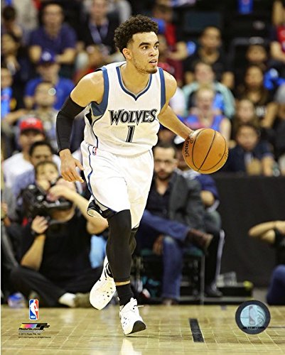 Tyus Jones Minnesota Timberwolves 2015-2016 NBA Action Photo (Size: 8