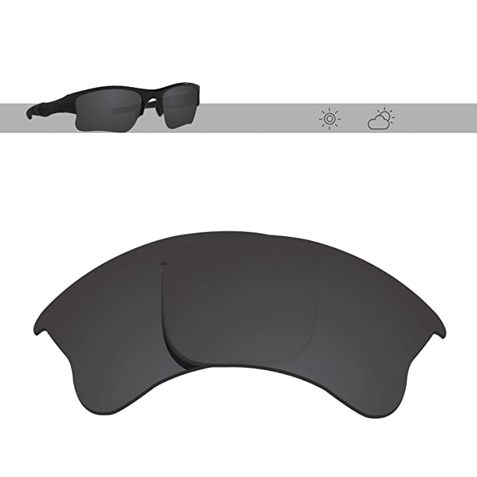 cb78cb0c70269 Glintbay Harden Coated Replacement Lenses for Oakley Flak Jacket XLJ  Sunglasses - Multiple Colors (Polarized
