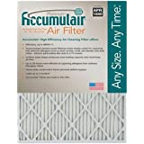 14x25x4 (13.5x24.5x3.75) MERV 11 Aftermarket Accumulair Replacement Filter