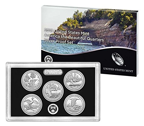 2018 S America the Beautiful Silver Quarters Proof