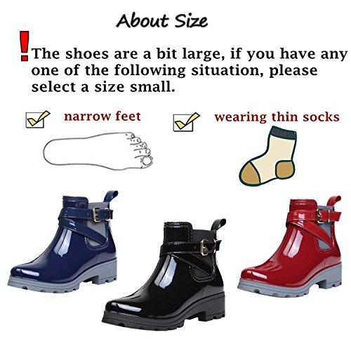 1 D'hiver Chaussures Noir Unisexes Bottes Ukstore Antidérapantes xw0UqSBwn