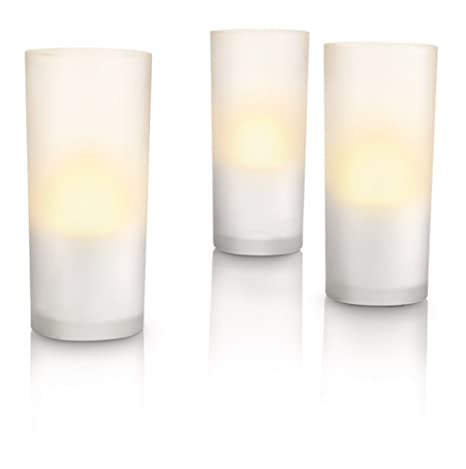 Philips AccentLED Lámpara de mesa 69108/60/PH - velas ...