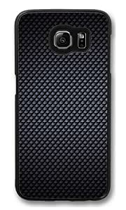 Diamond Pattern Polycarbonate Hard Case Cover for Samsung S6/Samsung Galaxy S6 Black
