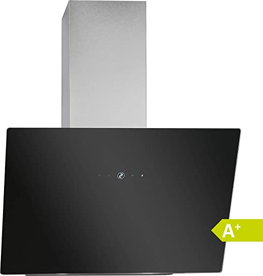 Bomann DU 7604 G - Campana extractora vertical sin cabeza, 60 cm de ancho, control táctil, 9 niveles de potencia, iluminación LED, color negro y plateado: Amazon.es: Grandes electrodomésticos