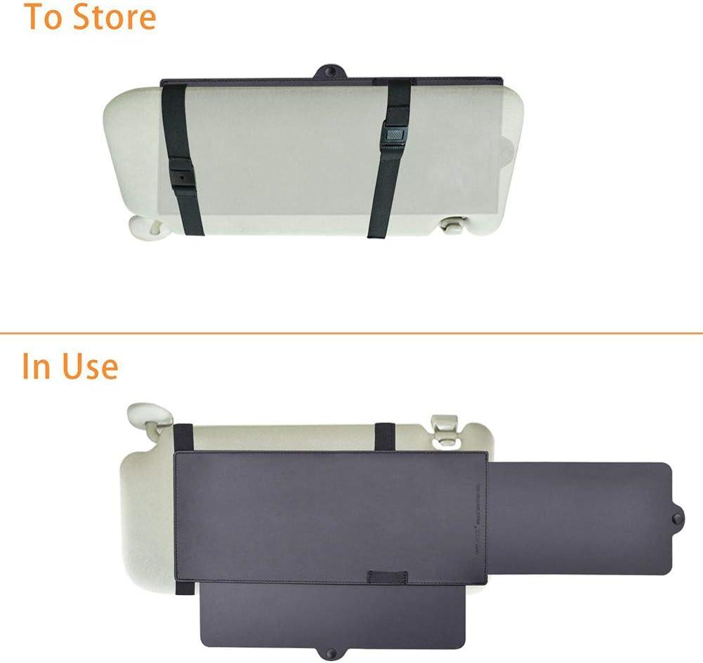 protection contre la neige Pumpumly Rallonge de pare-soleil de voiture polaris/ée commune outils de voie pare-soleil outils /à tirer vers le bas