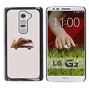 Be Good Phone Accessory // Dura Cáscara cubierta Protectora Caso Carcasa Funda de Protección para LG G2 D800 D802 D802TA D803 VS980 LS980 // Painting Drawing Vintage Model
