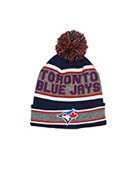 Toronto Blue Jays Cuffed Knit Hat with Pom