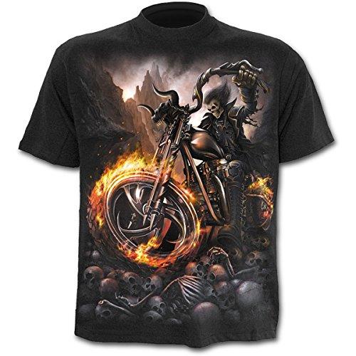 Herren T-Shirt SPIRAL - Wheels Of Fire - TR333600 S