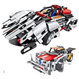 models for 8 year old boys - Engineering Toys, STEM Learning Kits, Educational Construction RC Racer Building Blocks Set for 7, 8 and 9 Year Old Boys|Top Xmas Gift Ideas for Kids Age 6yr-14yr