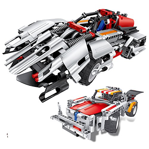 Engineering Toys, STEM Learning Kits, Educational Construction RC Racer Building Blocks Set for 7, 8 and 9 Year Old Boys|Top Xmas Gift Ideas for Kids Age 6yr-14yr