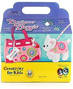 Creativity for kids designer doggie 1 pcs sku for Amazon arts and crafts for kids