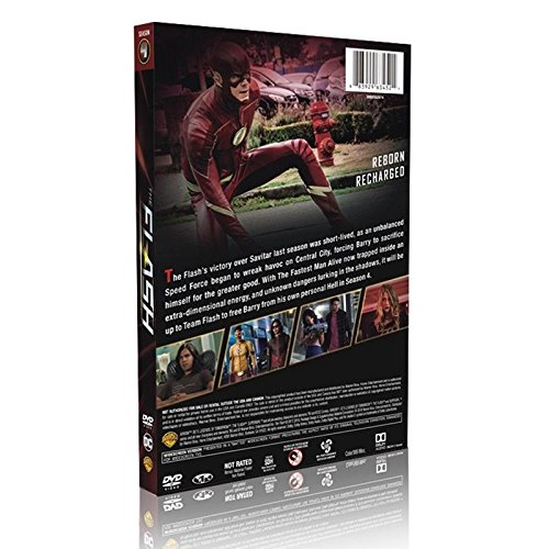 The Flash: Complete Fourth Season 4 New (DVD, 5-Disc) by NTSC