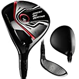 Callaway Men's Great Big Bertha #3 Fairway Wood (Right Hand, Graphite, Regular Flex, Kuro Kage 50g, 15 Degrees)