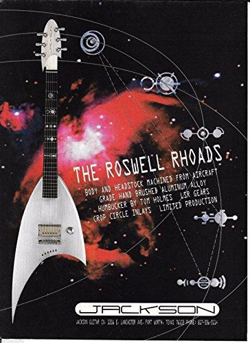 Rhoads Strings Randy - Jackson Guitars - The Roswell Rhoads - 1997 Advertisement