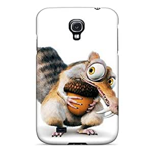 Scratch Resistant Hard Cell-phone Case For Samsung Galaxy S4 With Customized HD Ice Age Series EricHowe