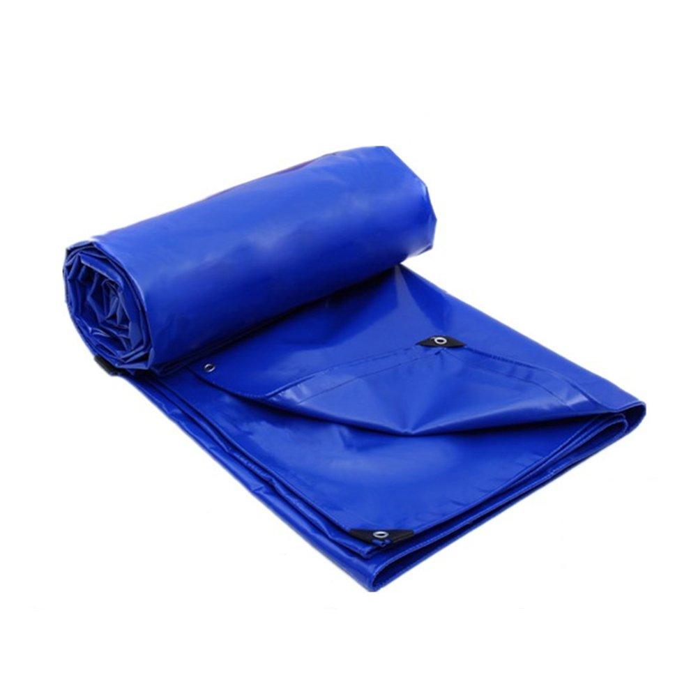 ふわふわ 青 ファーム ロールクロス 防水、 日焼け止め、 トラック 雨布 サンシールド アウトドア シェッドクロス ポリエステル PVCコーティング,400 * 400Cm B07FYN5F74 400*400cm  400*400cm