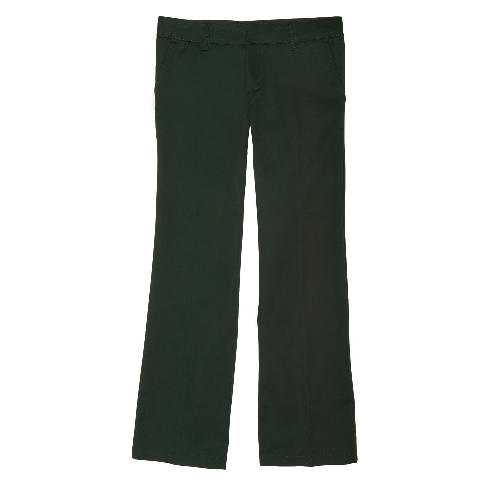 French Toast Little Girls' Adjustable Waist Flat Front Bootcut Pant SK9295