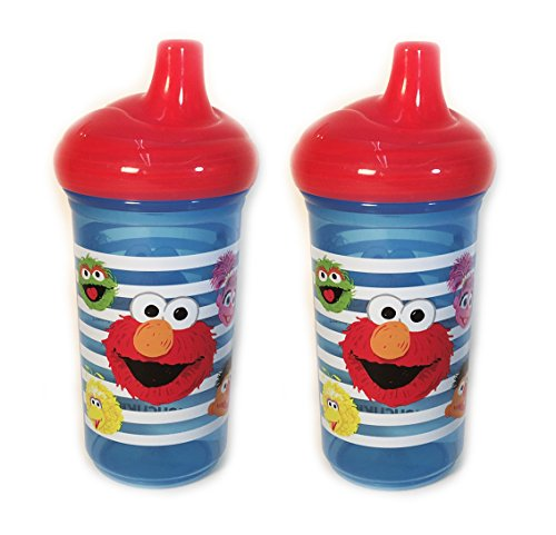 Set of 2 Munchkins Sesame Street 9 oz Sippy Cups