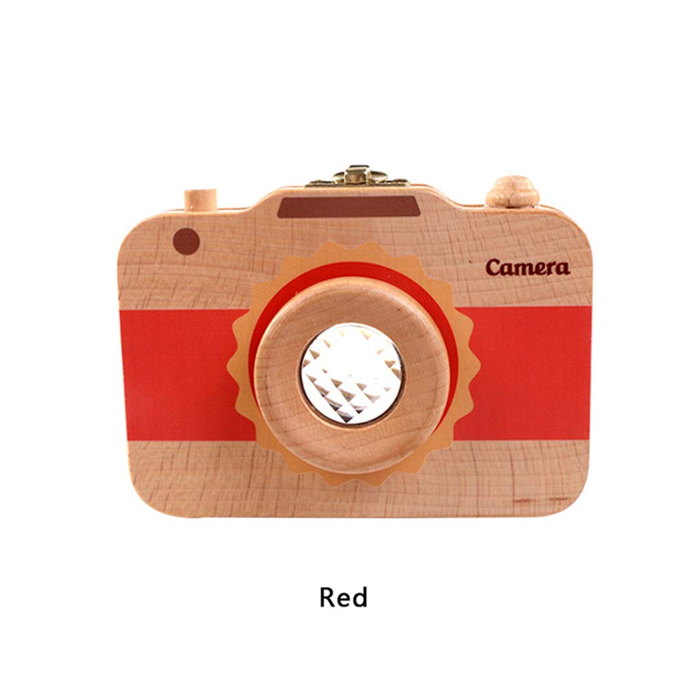 abai8981 Zahndose Kamera Typ Baby Z/ähne Aufbewahrungsbox Kamera Design Zahnschutz f/ür Kinder Laubz/ähne Sammlung beige