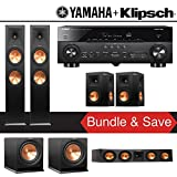 Klipsch RP-280F 5.2-Ch Reference Premiere Home Theater System with Yamaha AVENTAGE RX-A770BL 7.2-Ch 4K Network AV Receiver