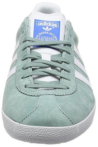 adidas Gazelle Og - Zapatillas de Running Hombre Verde (Legend Green/Footwear White/Legend GreenLegend Green/Footwear White/Legend Green)